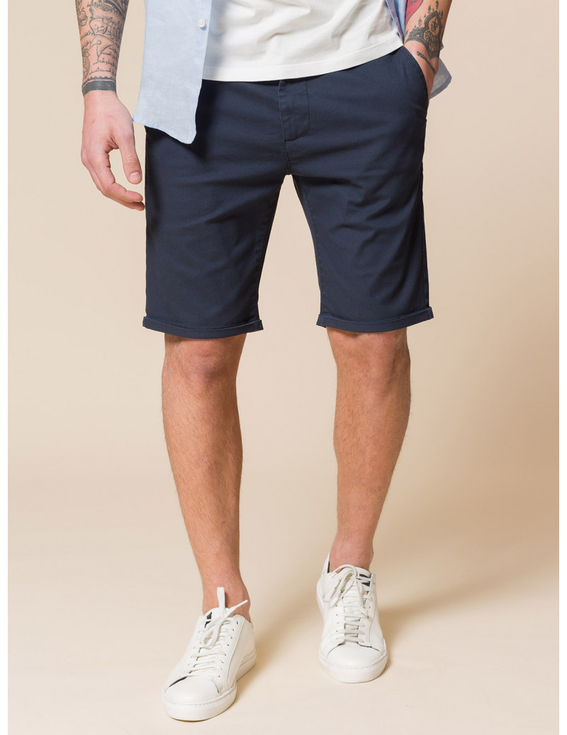 Shorts chino in cotone stretch
