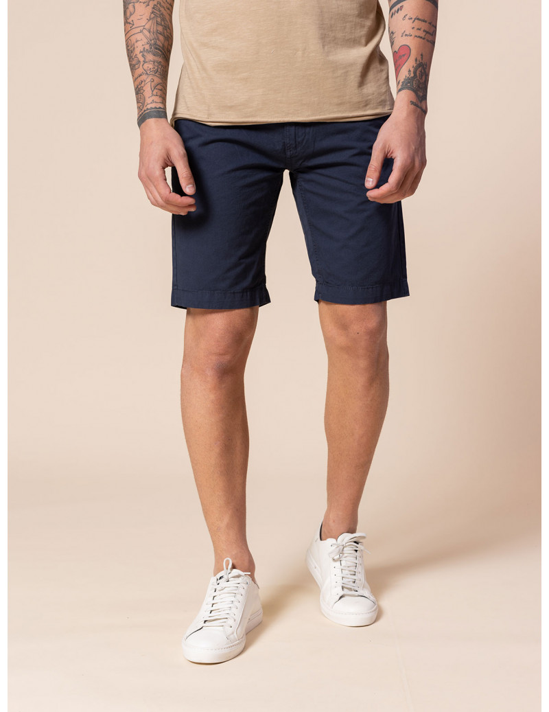 Shorts in cotone tipo chino